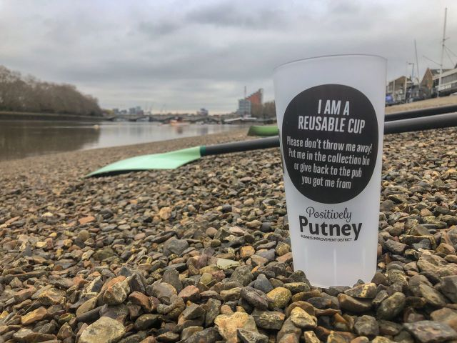 Positively Putney Reusable Cups